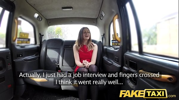 Fake taxi, Taxi, Brunette