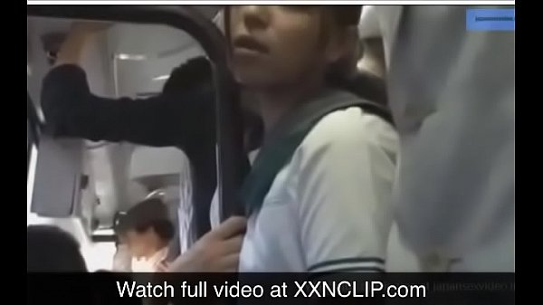 Japanese bus, Groping, Japanese schoolgirl, Bus touch, Japanese schoolgirls