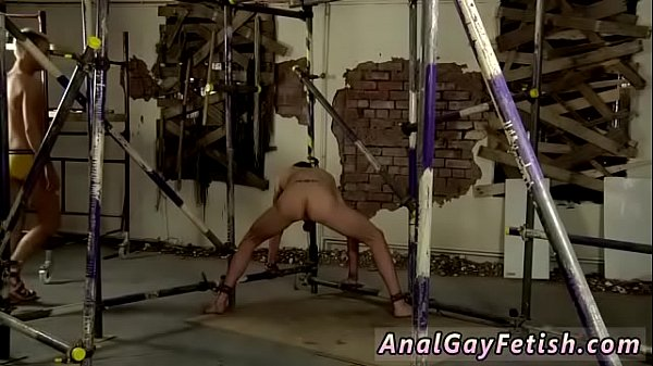 Oil,  gay bondage