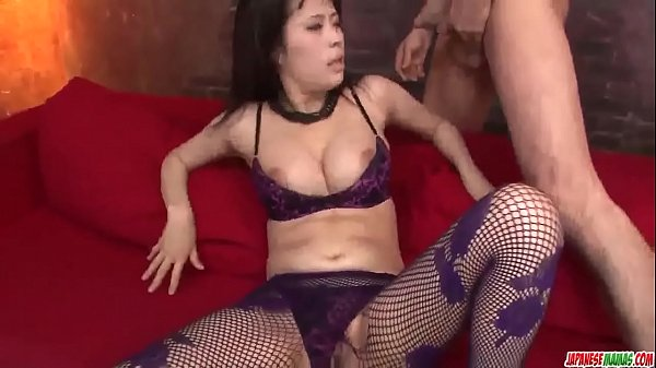 Busty, Asian woman