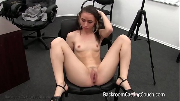 Teen creampie, Couch, Casting couch