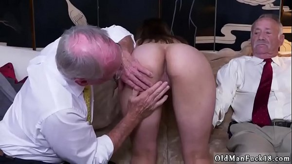 Old and young, Grandpa, Young creampie