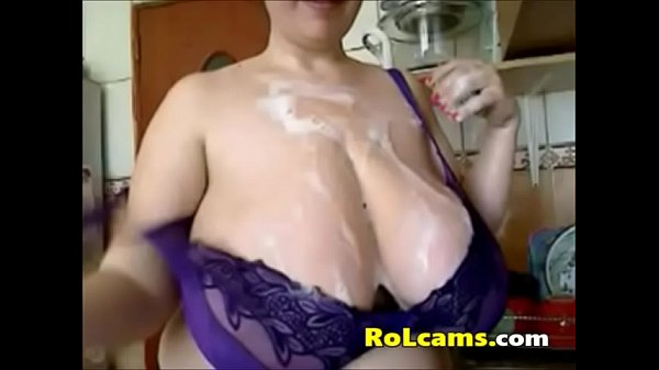 Webcam milf, Kitchen milf